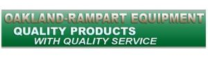 This is am image of the logo for our sponsor, Oakland-Rampart Equipment.