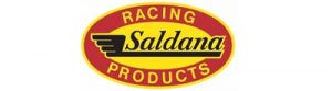 Tis image is the logo for our sponsor, Saldana Racing Products.